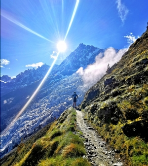 Beautiful trails with fantastic views, Trail running in Chamonix